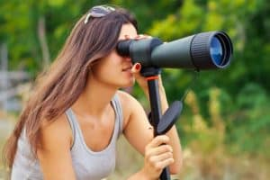 SPOTTING SCOPE MAGNIFICATION FOR 1000 YARDS