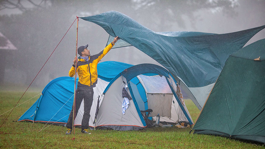 Photo of Camping In The Rain Tips – Tricks and Hacks You Need To Know