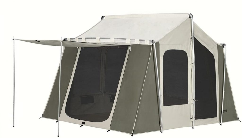 kodiak canvas 12x9 canvas cabin tent