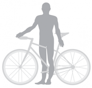 How to measure the Standover height for bike sizing