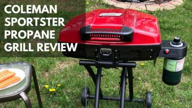 Photo of Coleman Sportster Propane Grill Review
