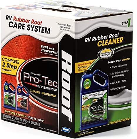 Camco Pro-Tec RV Rubber Roof Care System