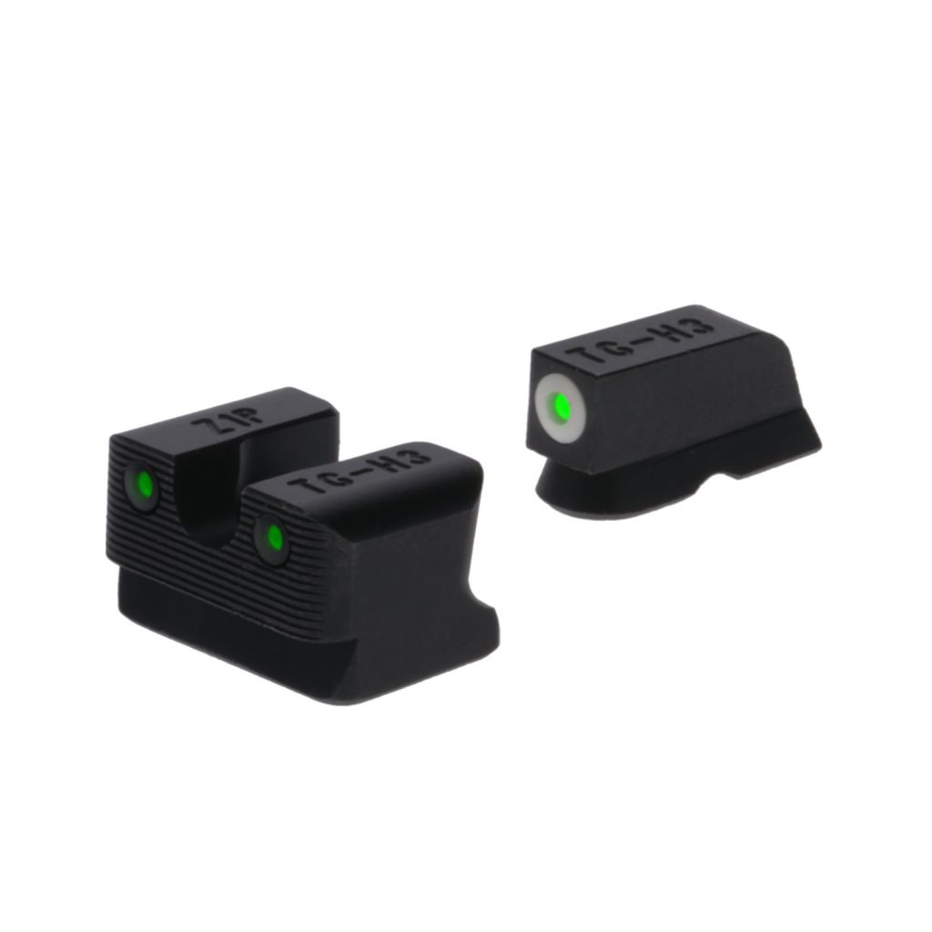 TRUGLO Tritium Handgun Sight Set