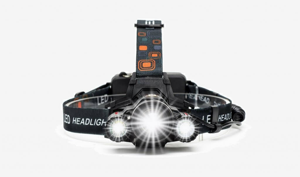 6000 Lumens Headlamp