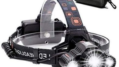 Photo of Cobiz Headlamp – Rechargeable Waterproof 6000 Lumens Headlamp