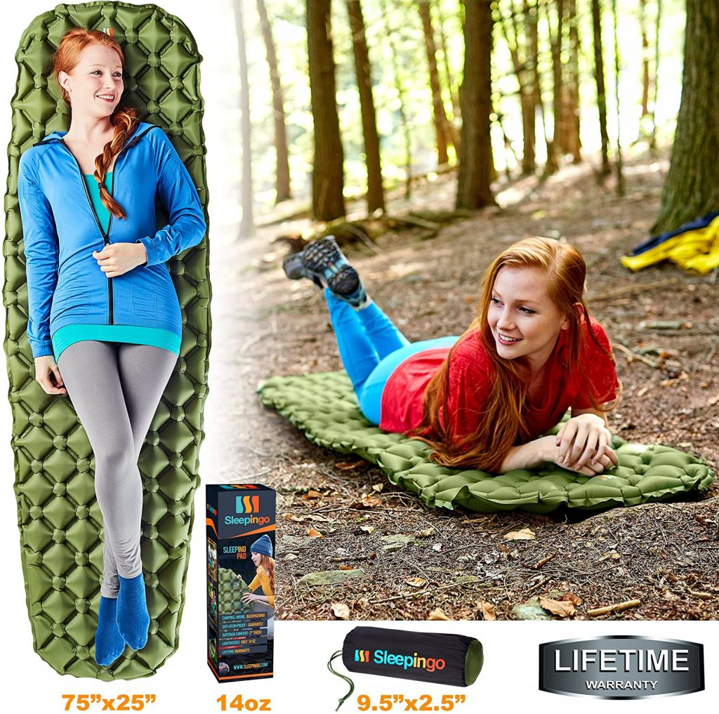 best camping pad for side sleepers