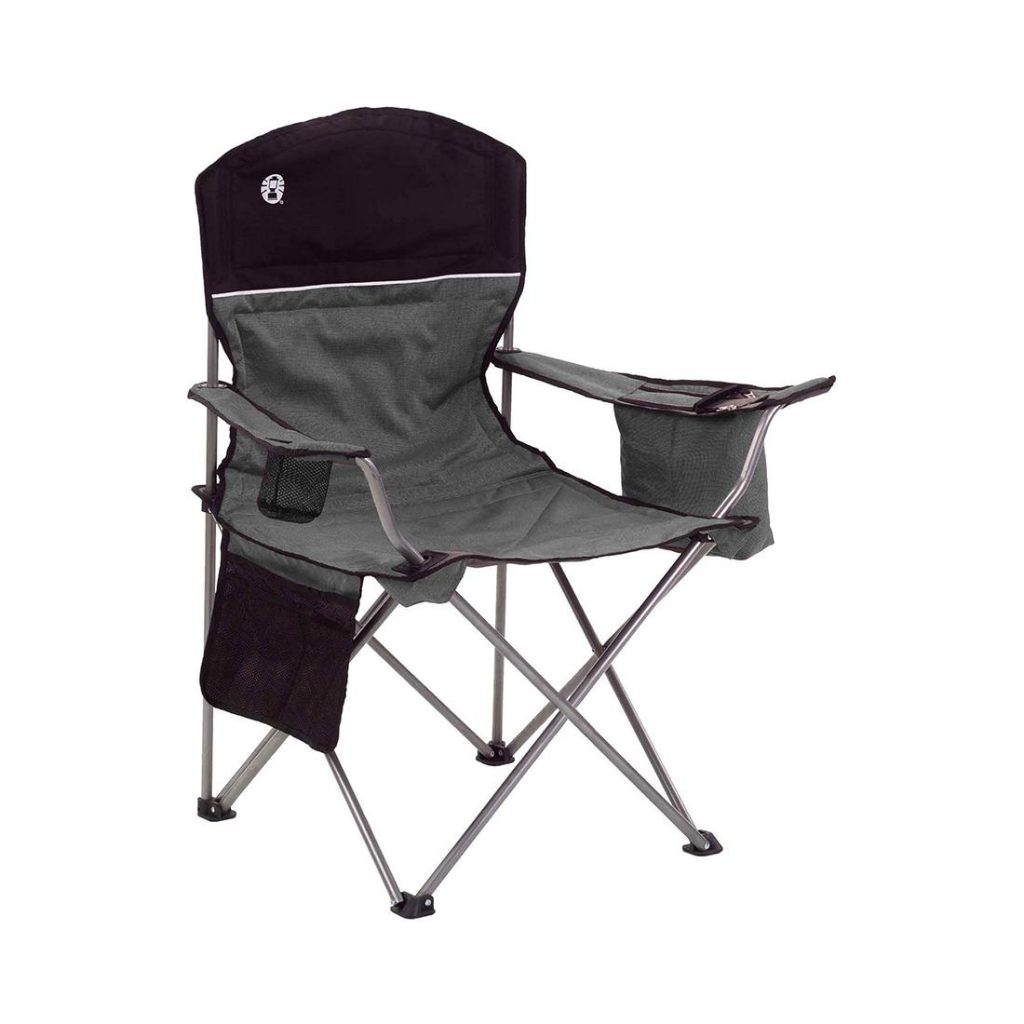 Coleman Camping Oversized Quad Chair w/Cooler