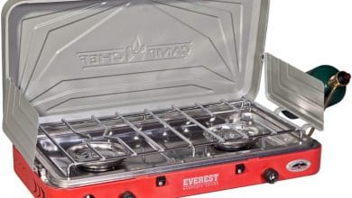 Photo of Camp Chef Everest High-Output 2-Burner Stove Review