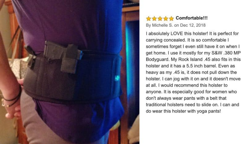 Kaylle Belly Band Holster Review