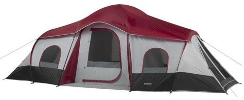 Ozark Trail 10-Person 3-Room XL Family Cabin Tent Key features