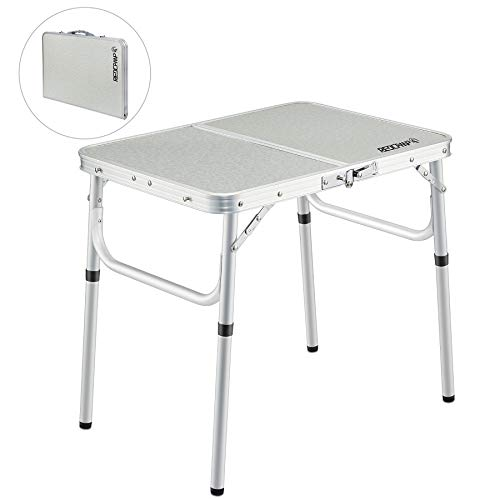 Coleman Pack-Away Adjustable Height Folding Camping Table