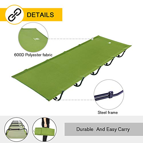 Ever Advanced Folding Camping Cot