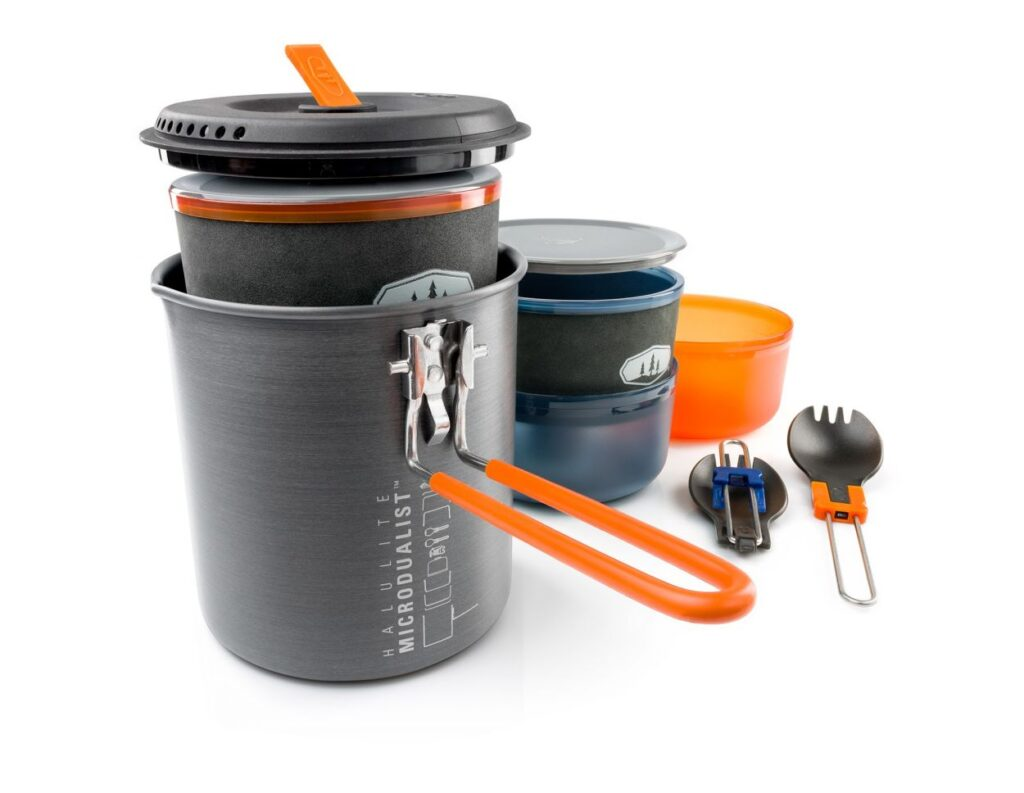 GSI Halulite Microdualist Cookset for Two
