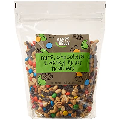 Happy Belly Nuts, Chocolate & Dried Fruit Trail Mix