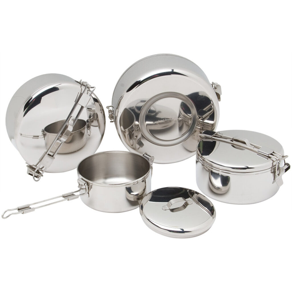 MSR Alpine 4 Stainless Steel Pot Cook Set