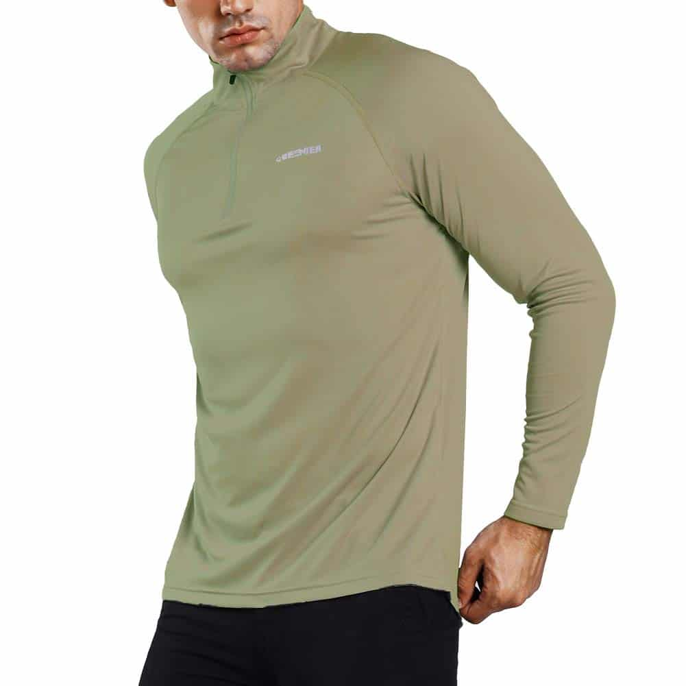 Ogeenier Men's ¼ Zip Pullover