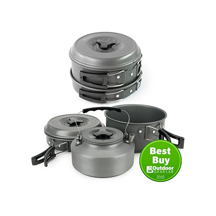 Winterial Camping Cookware and Pot Set