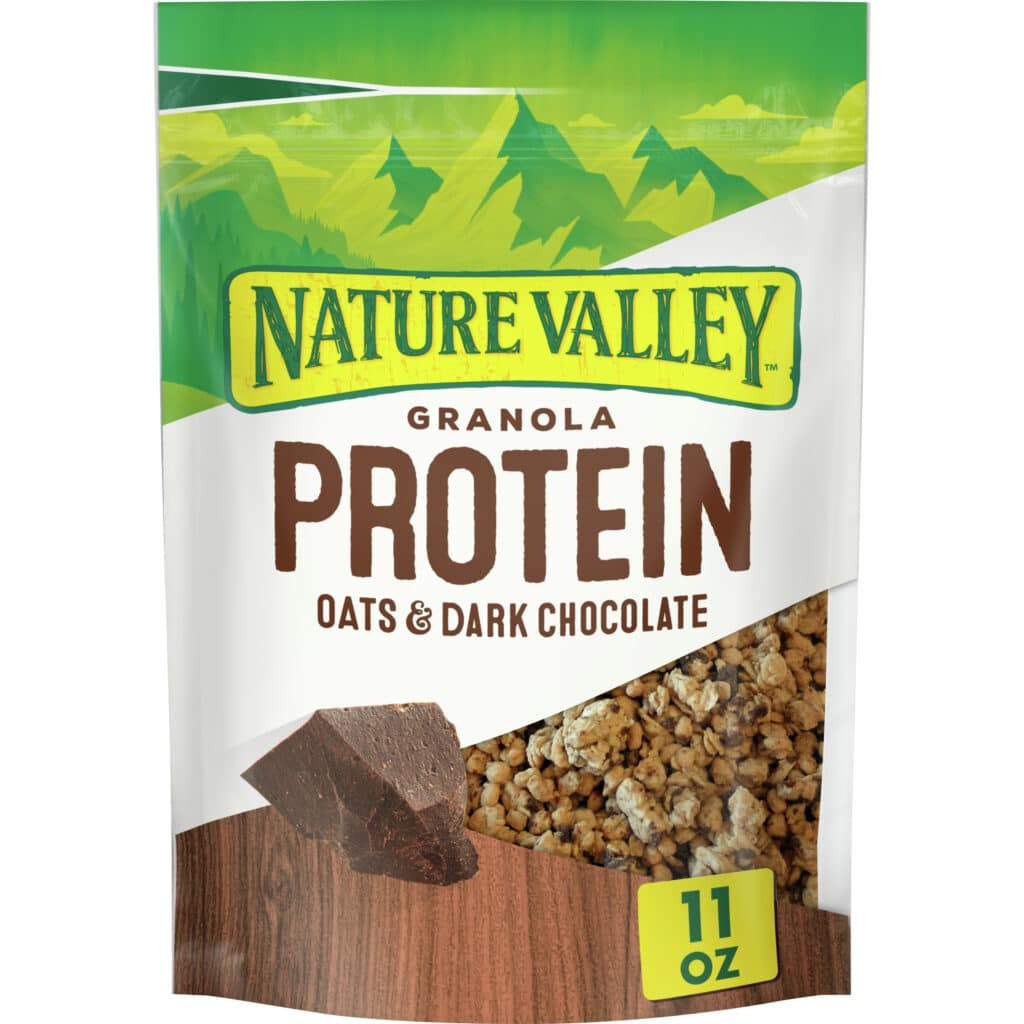 nature walley oats and dark chocolate Best Hiking Snacks