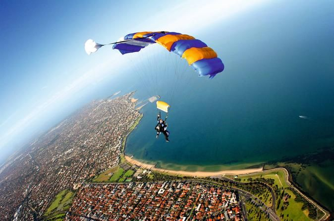 Extreme Thrill When Skydiving