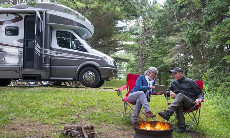 Preparing for a power outage in RV camping